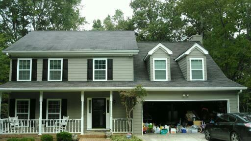 Classic Onyx Black Roof Replacement in Roswell, GA