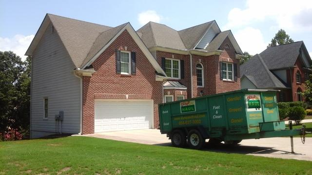 Roof Replacement in Flowery Branch, GA - Before Photo