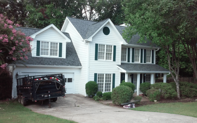 Roof Replacement in Alpharetta, Georgia