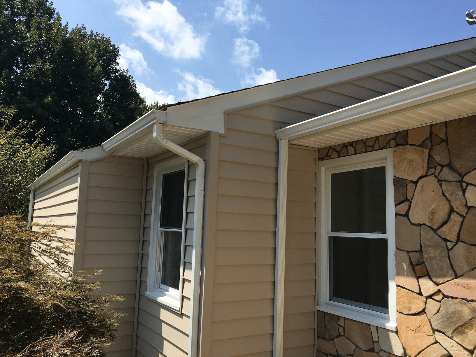 Siding Replacement in Vinton - After Photo