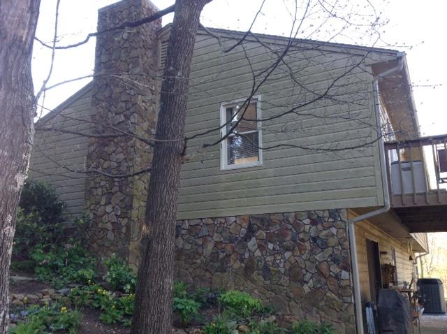 Siding Replacement in Vinton - Before Photo