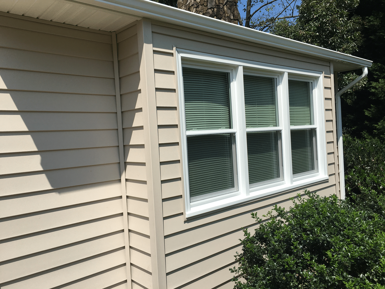 Vinyl Siding Replacement in Vinton - After Photo