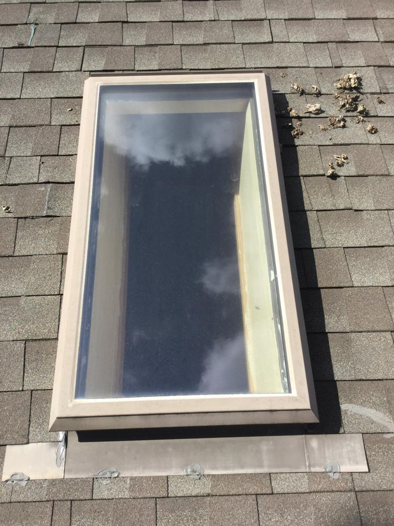 Skylight Replacement in Roanoke - Before Photo
