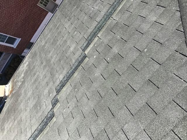 Roof Replacement Before & After - Before Photo