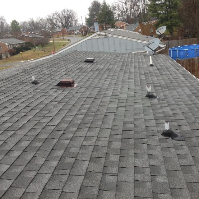 Roof Replacement in Northwest - Before Photo
