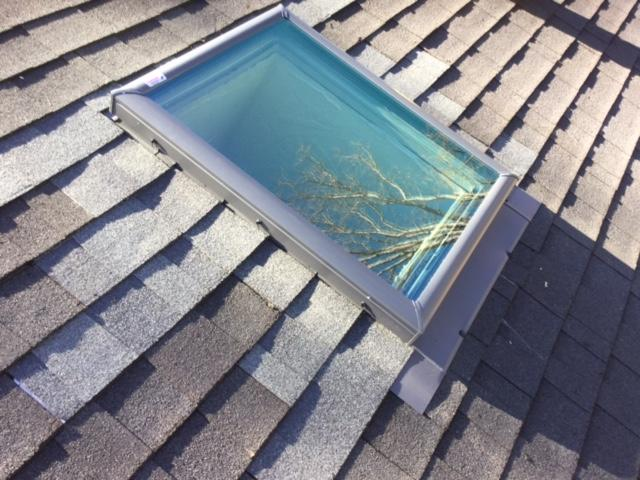Skylight Replacement in Blue Ridge - After Photo
