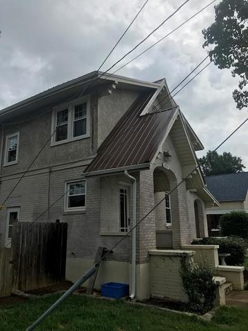 Metal Roof Install Vinton - After Photo