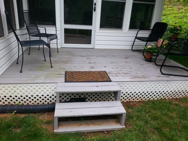 Porch Replacement in Cave Spring