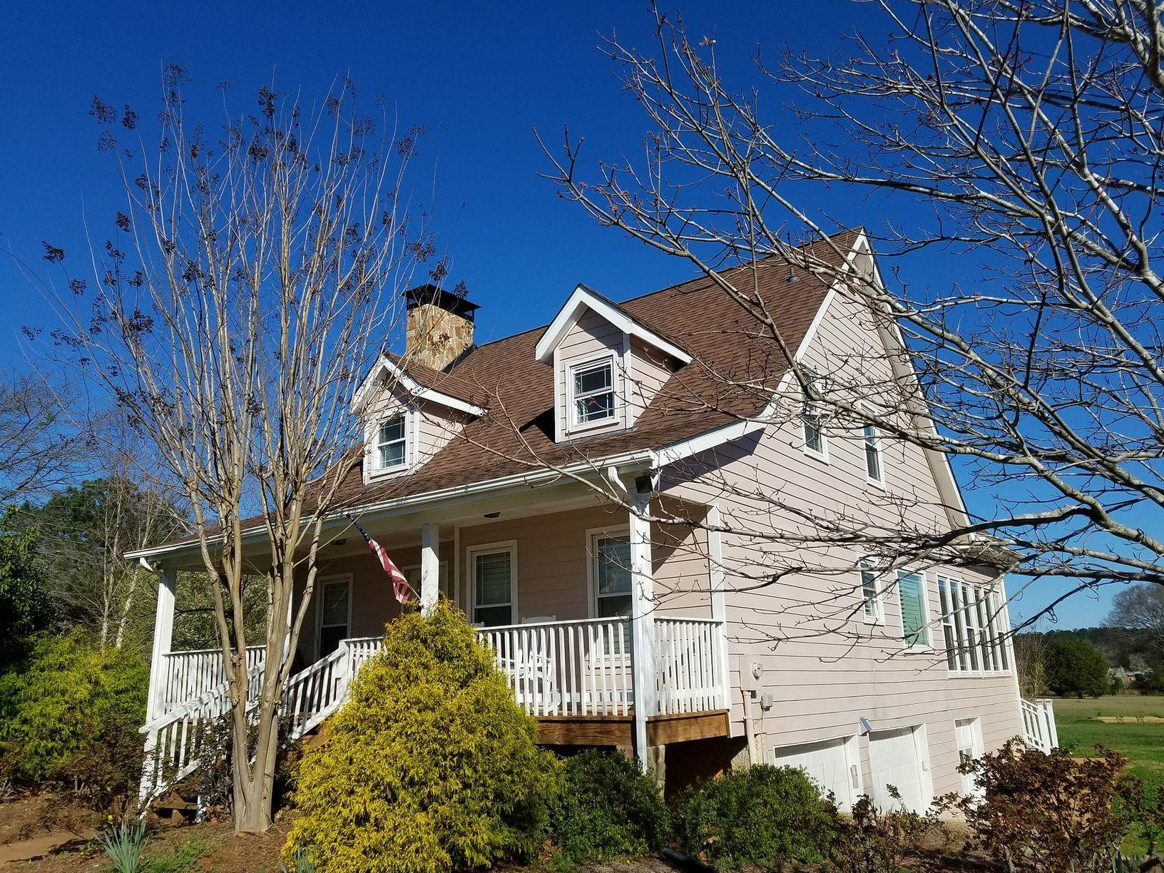 Hardie Siding Replacement in Fayetteville, Georgia - Before Photo