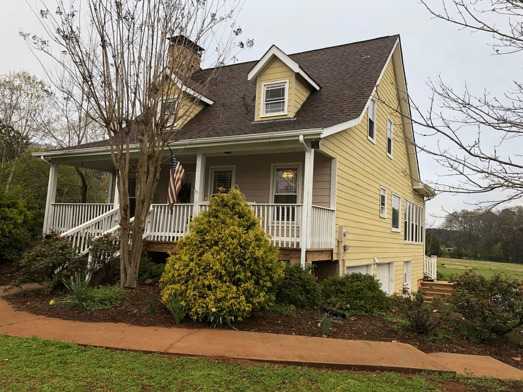 Hardie Siding Replacement in Fayetteville, Georgia - After Photo