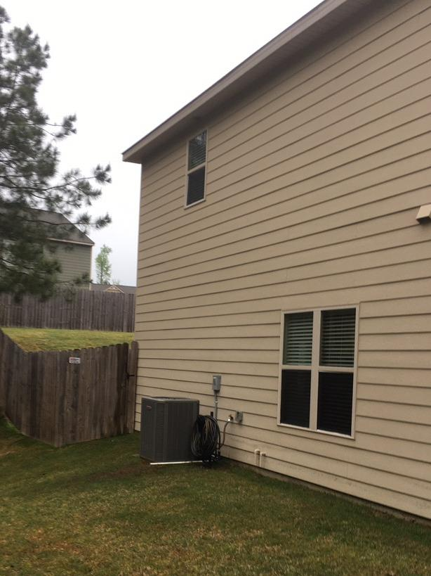 New Gutters in Palmetto, GA - Before Photo