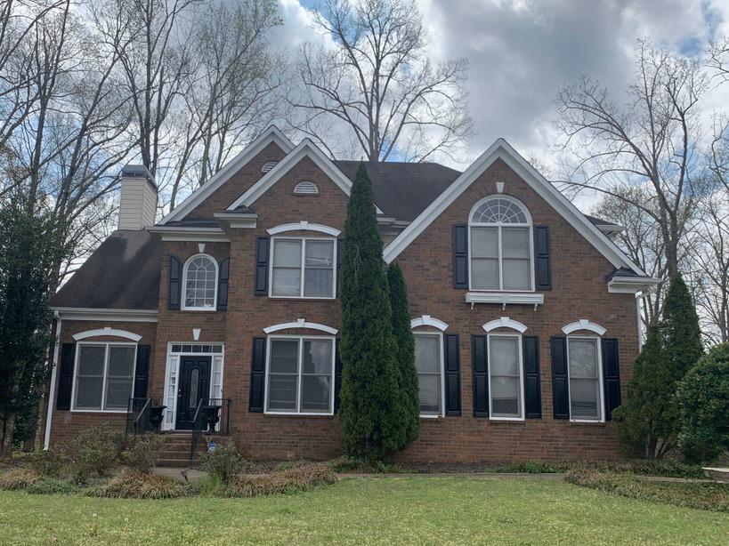 Roof replacement in Atlanta, GA - Before Photo