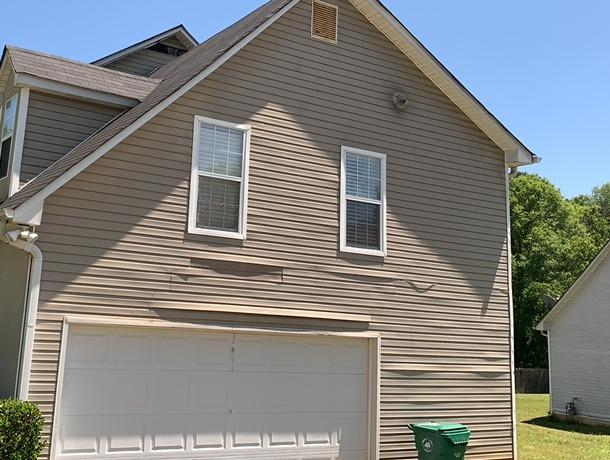 Siding repair in Decatur, GA - Before Photo