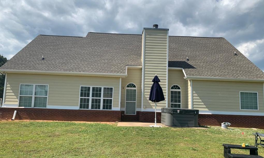 Hardie Siding replacement in McDonough, GA - After Photo