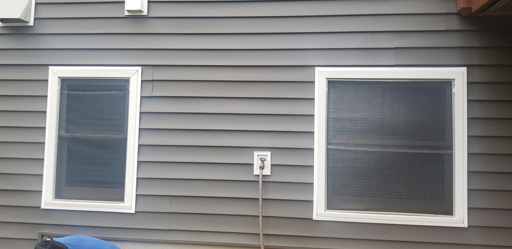 Siding repair in Winston, GA - After Photo
