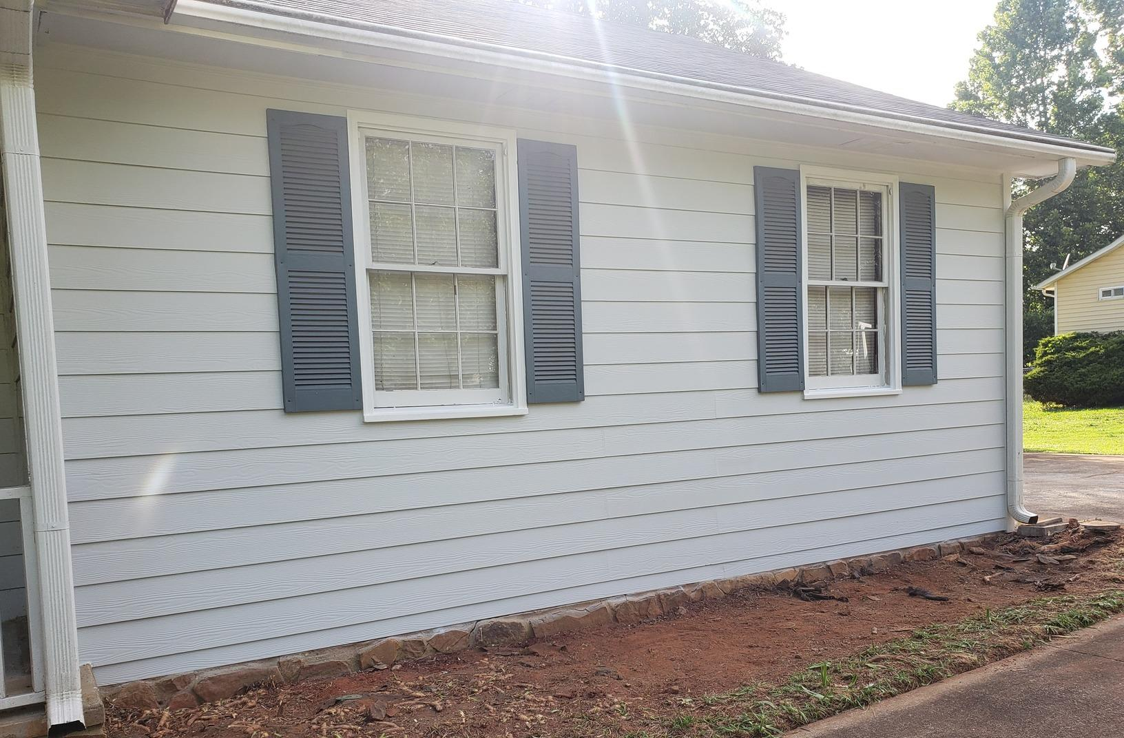 Siding replacement in Hampton, GA - After Photo