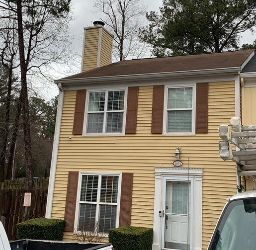 Roof replacement in Doraville, GA - Before Photo