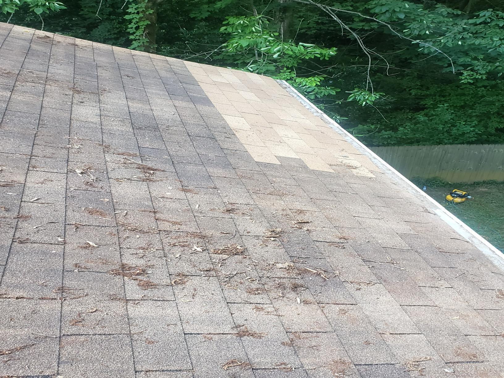 Roof and soffit repair in Atlanta, GA - After Photo