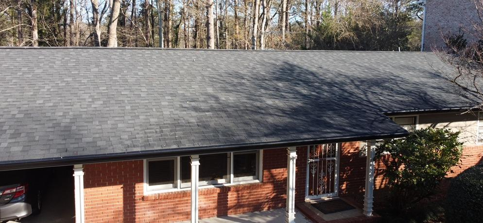 Roof replacement in Decatur, GA - After Photo