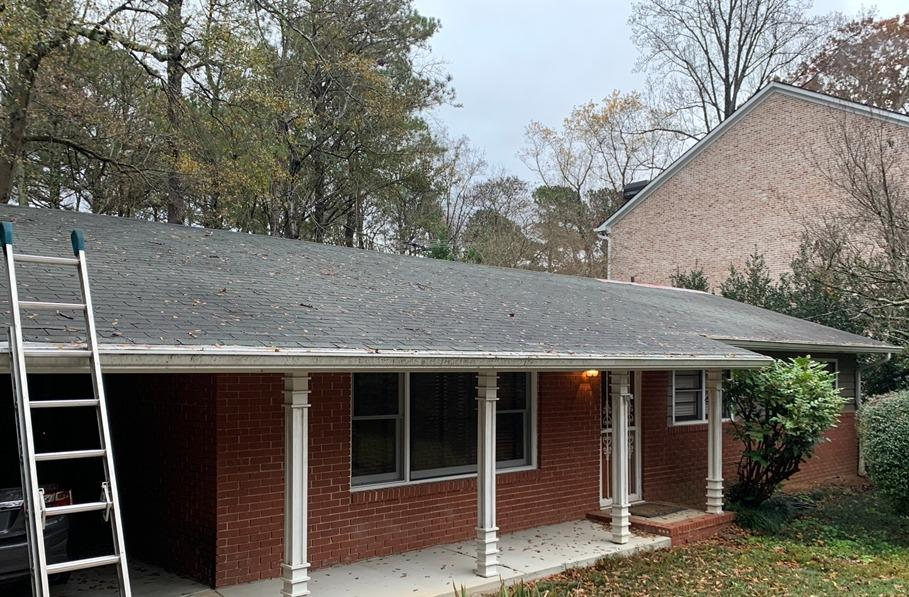 Roof replacement in Decatur, GA - Before Photo