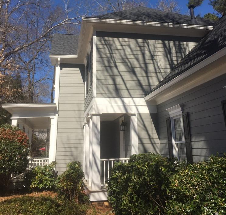 Siding replacement in Fayetteville, GA - After Photo