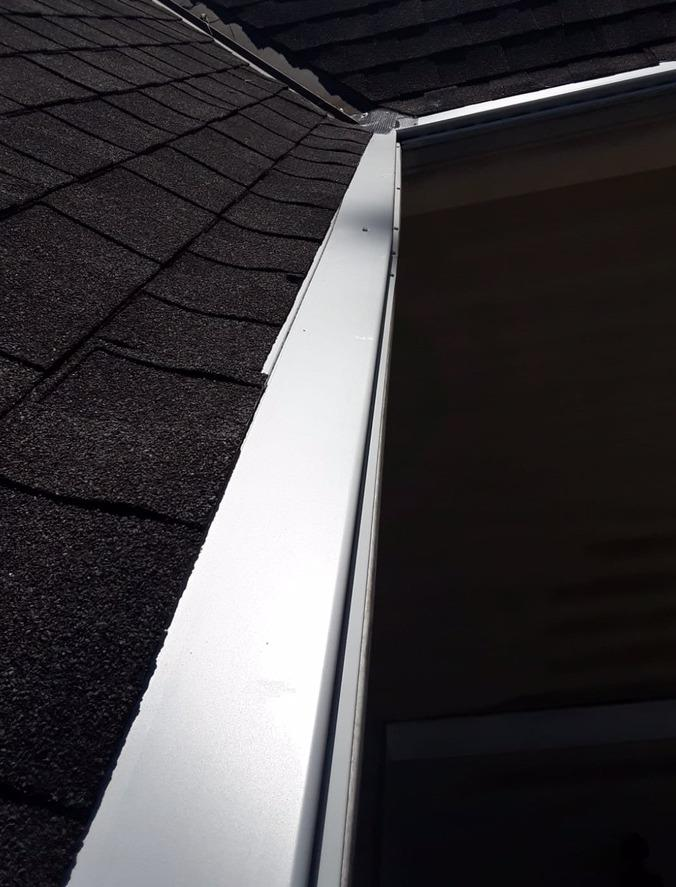 LeaFree gutter protection in Decatur, GA - After Photo
