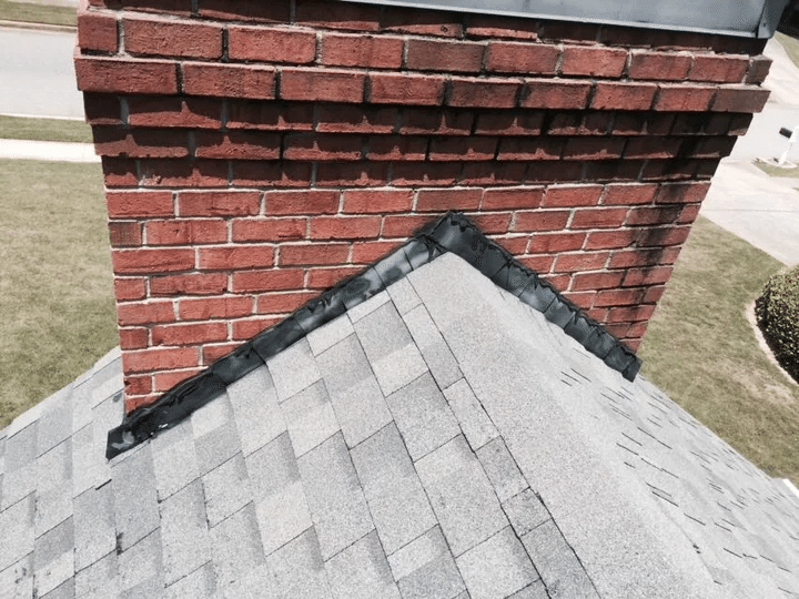 Roof Repair in Fayetteville, Georgia - Before Photo
