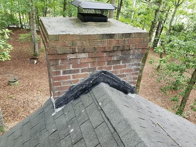 New Chimney Flashing in Fayetteville, GA