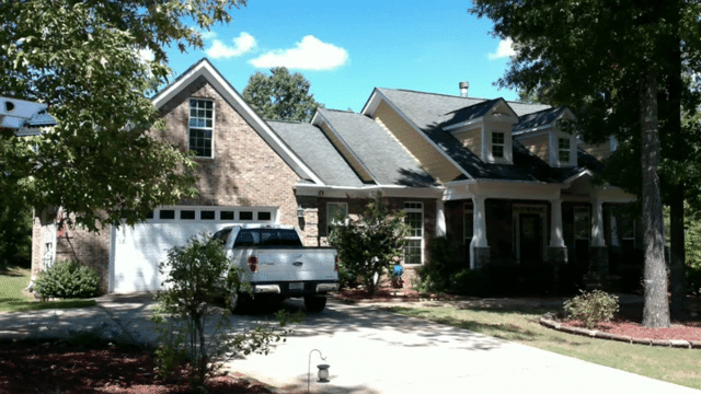 Roof Replacement in Brooks, GA - Before Photo
