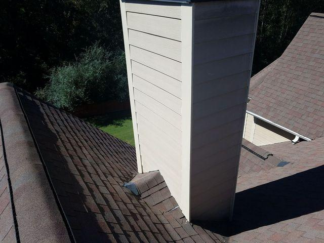 Wood Chimney Repaired in Tyrone, GA