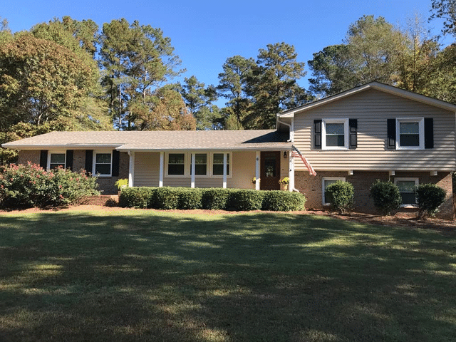 Complete Exterior Make-Over on Newnan, GA Home