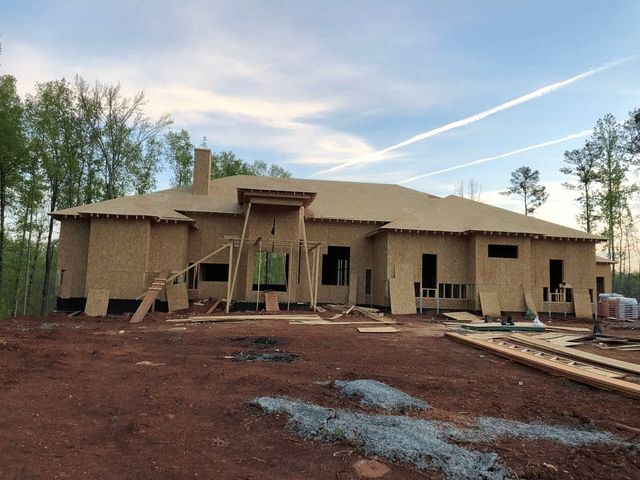 Owens Corning Duration Roof System Installed on New Construction in Fayetteville, Georgia