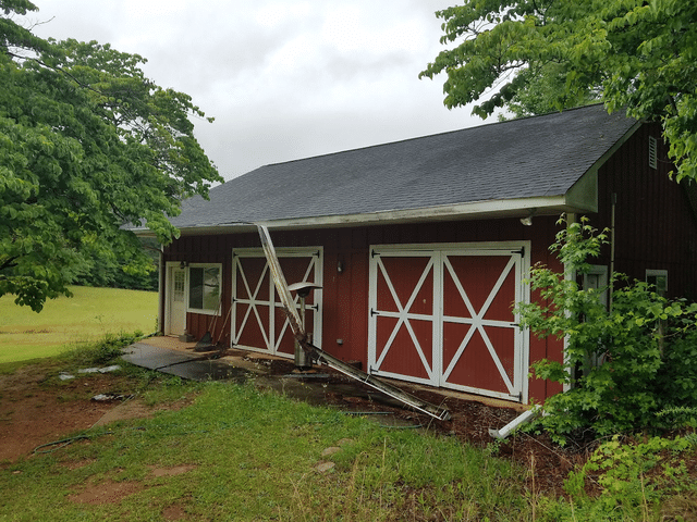 Gutter & Gutter Guards Installed on Newnan Home