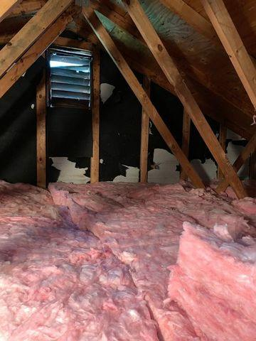 Attic Insulation Replacement in Atlanta, GA - After Photo