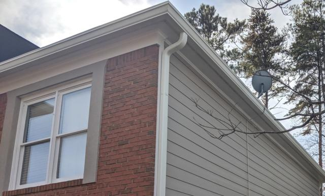 Gutter replacement in Marietta, GA - After Photo