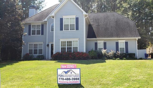 Siding and Window Replacement in Fayetteville, GA
