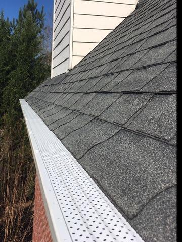 New Bulldog gutter protection installed in Peachtree City, GA
