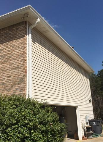 Roof repair, gutters and LeaFree gutter protection in Fayetteville, GA