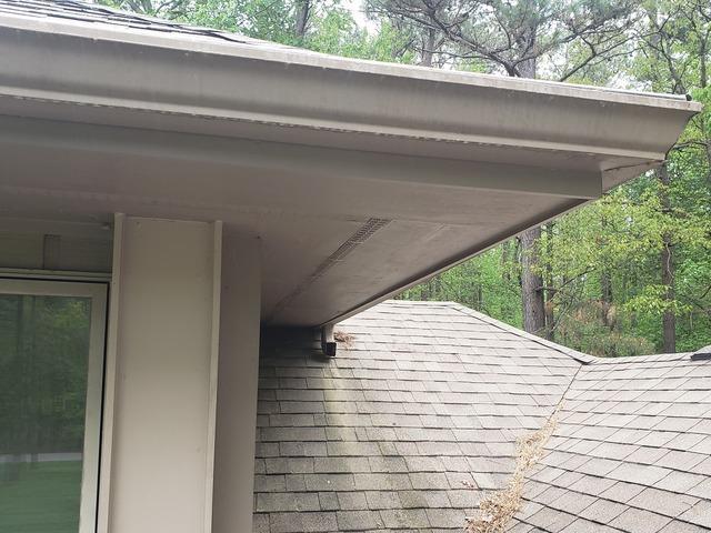 Gutter and wood repair in Fayetteville, GA