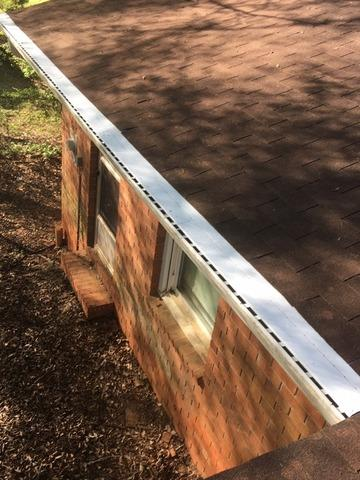 Gutter protection installed in Palmetto, GA