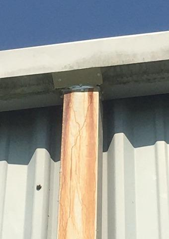 Downspout repair in Fayetteville, GA