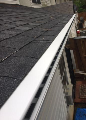 Gutters and LeaFree gutter protection in Newnan, GA