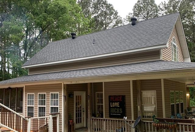 Roof replacement in Williamson, GA