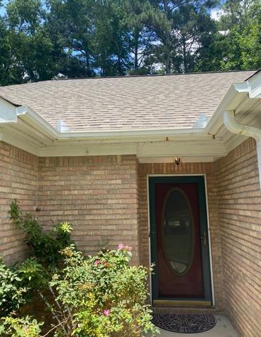 New gutters installed in Sharpsburg, GA