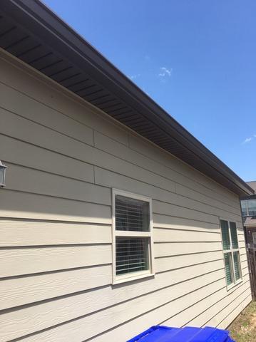 New gutters installed in Fairburn, GA