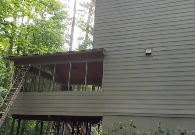 Hardie Siding and painting in Peachtree City, GA
