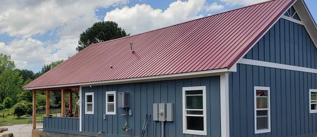 New gutters installed in Locust Grove, GA