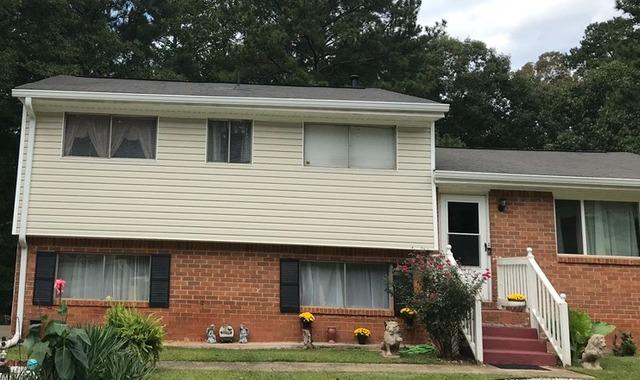 New gutters installed in Union City, GA