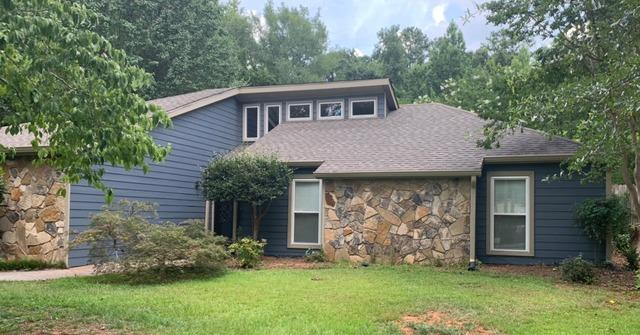 New Hardie siding and painting in Fayetteville, GA