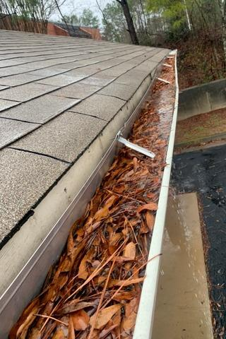 Gutters and LeaFree gutter protection in Fayetteville, GA